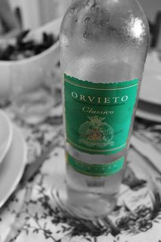 Orvieto is an Italian wine region (on mainland Italy), which produces mainly white wines from the fairly obscure grapes of Grechetto and Trebbiano. Think Pinot Grigio, but with more aromatics!   A perfect pairing component for fresh seafood. Lots of apricot, honeydew melon, peach and anise.