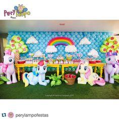 mesa de postres mi pequeño pony - Buscar con Google