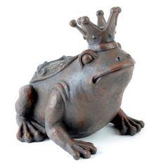 Frog Prince Garden Statue