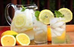 Lemon + Water = Good way to begin the mornings fitness