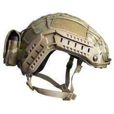 FAST Ballistic Helmet Mounted Pouch - 50/50 Air Ground Warrior Battery