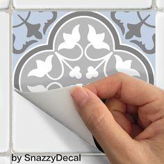 Wall stickers vinyle autocollant de tuile tuile par SnazzyDecal
