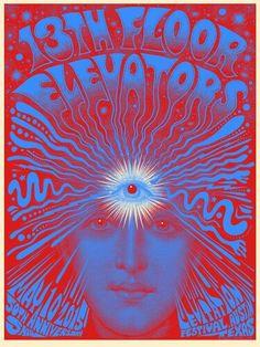 13th Floor Elevators, 50th anniversary, Levitation Festival, Austin, Texas 10th May 2015