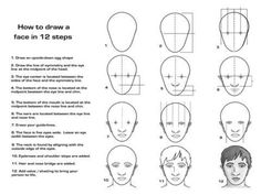 self-portrait drawing handout - Google Search