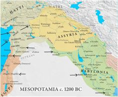 Mesopotamia and Middle Assyrian Empire, c.