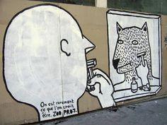 Olive Ô Saumon: R.I.P : n'oublions pas le street-artiste Français, Zoo project