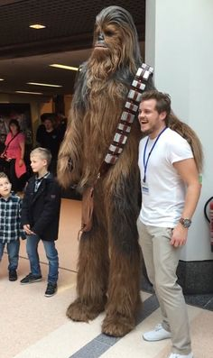 ArtStation - Chewbacca Jon Berry  sc 1 st  Pinterest & Star Wars Fanu0027s Incredible Homemade Chewbacca Costume | Halloween ...