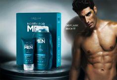 32018-North for Men Orginal poklon set sa šamponom koji obnavlja kožu i kosu i osvežavajućim balzamom za posle brijanja,koji umiruje,štiti i pruža 24-časovnu hidratacij.300ml.