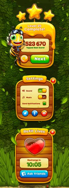 Feel the perfect taste of honey in our new Bee Star UI :)