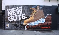 Timberland Mural Campaign in NYC