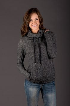 Cozy Cowl Neck Pullover | Want in a different color though, not black