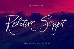 Relative Script Font by Design Dukkan on @creativemarket