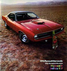Plymouth Barracuda adv (1970)