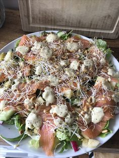 Salate salmon
