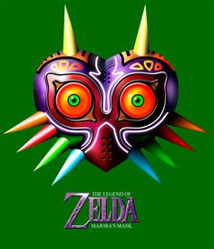 Camiseta Legenf of Zelda, Majoras Mask
