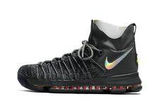 Fashion KD 9 IX Elite Time to Shine Dark Grey Sail Gym Red Mens Basketball  Shoes