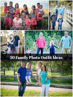 50+ Family Photo Outfit Ideas