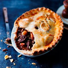 lamb and red currant pie