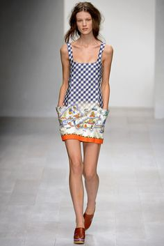 @Kinder_Aggugini #catwalk #LFW #London #SS_2013 #trends #mix_prints #in