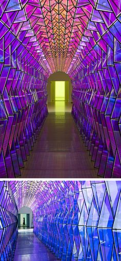One-Way Colour Tunnel by Olafur Eliasson