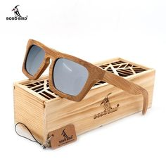 Buy BOBO BIRD Mirrored Polarized uv400 Bamboo #Sunglasses and add a new look in your #Style. Our all wood sunglasses are hand-made and unique. #Fashion #BoysSunglasses
