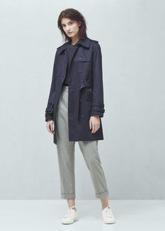 Trench double boutonnage | MANGO Jeans, Trench, Double Breasted, Dress Up, Normcore, Jackets, Clothes, Mango France, Denmark
