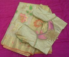 Banaras saree with pattern blouse 7702919644