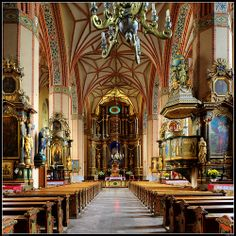 Church of SS. Peter and Paul in Reszel, Poland