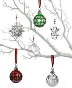 Waterford Christmas Ornaments.Pinterest