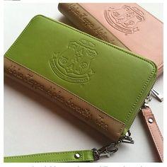 Alpha Kappa Alpha leather wallets