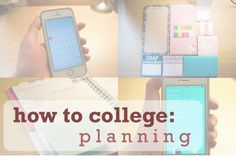 Crazy Scarf Girl: How to College: Planning, tips for staying organized in #college! #school #diy #organization