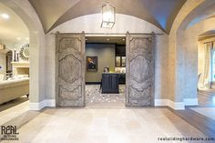 High Quality French Antique Sliding Doors Use Hex Bar Modern Sliding Hardware. Photo  From Michael, Houston, Texas (TX)