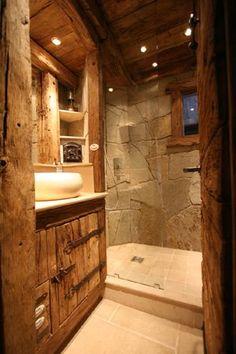 cool Idée décoration Salle de bain - Chalets top déco et vin chaud !