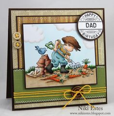 My Paper Creations: Happy Birthday Dad lotv