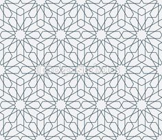 Traditional arabic pattern background — Stock Illustration #79018088