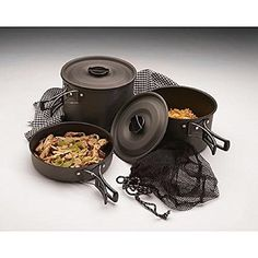 Texsport Cook Set Black Ice Trailblazer Camping Cookware *** More info could be found at the image url.