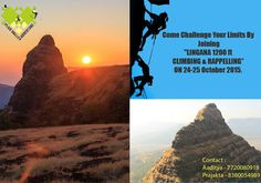 "Plus Valley Adventure Invites you for new season for aspiring climbers dream ""LINGANA 1200 ft CLIMBING & RAPPELLING"" ON 24-25 October 2015."