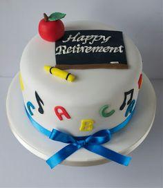 Sugar Ruffles, Elegant Wedding Cakes. Barrow in Furness and the Lake District, Cumbria: Teacher Retirement Cake