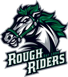 Cedar Rapids  RoughRiders Primary Logo (2013) -