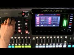 Behringer X32 Review (12) effects - YouTube