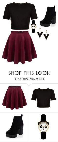 """Untitled #20"" by brendaheredia ❤ liked on Polyvore featuring Ted Baker and New Look"
