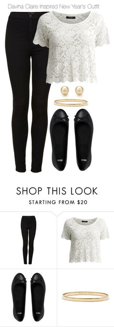 """The Originals - Davina Claire Inspired New Year's Outfit"" by staystronng ❤ liked on Polyvore featuring Topshop, VILA, ASOS, Kate Spade, Tiffany & Co., NewYears, to, TheOriginals and DavinaClaire"