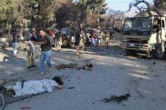 Suicide attack on FC Caravan