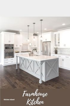 Looking for for inspiration for farmhouse kitchen? Browse around this website for unique farmhouse kitchen images. This unique farmhouse kitchen ideas appears to be amazing. Classic Kitchen, Modern Kitchen Island, Smart Kitchen, Modern Farmhouse Kitchens, New Kitchen, Cool Kitchens, Awesome Kitchen, Kitchen Islands, 10x10 Kitchen