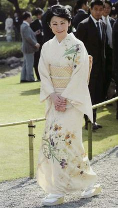 Japanese Princess Kiko.
