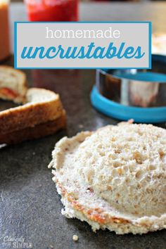 How to Make Homemade Uncrustables for lunch #weePLAN