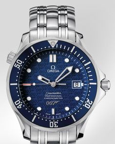 OMEGA Watches: The Collection Seamaster 300 M Chronometer - Steel on steel - 2537.80.00