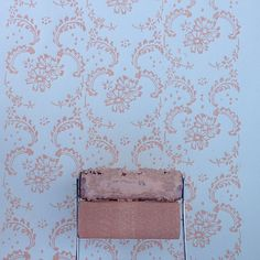 Patterned Paint Roller in Symphony Scrolls by NotWallpaper