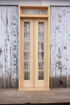 Doors kitchen to outside narrow french doors to open from for Narrow french patio doors