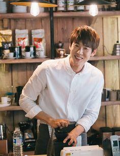 Yoo Yeon Seok, Warm And Cozy, Korean Drama, Kdrama, Chef Jackets, Shirt Dress, Celebrities, Mens Tops, Athletes
